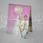 Undangan Pernikahan Hardcover Pop Up 3D Baha dan Imam (EDC 49)