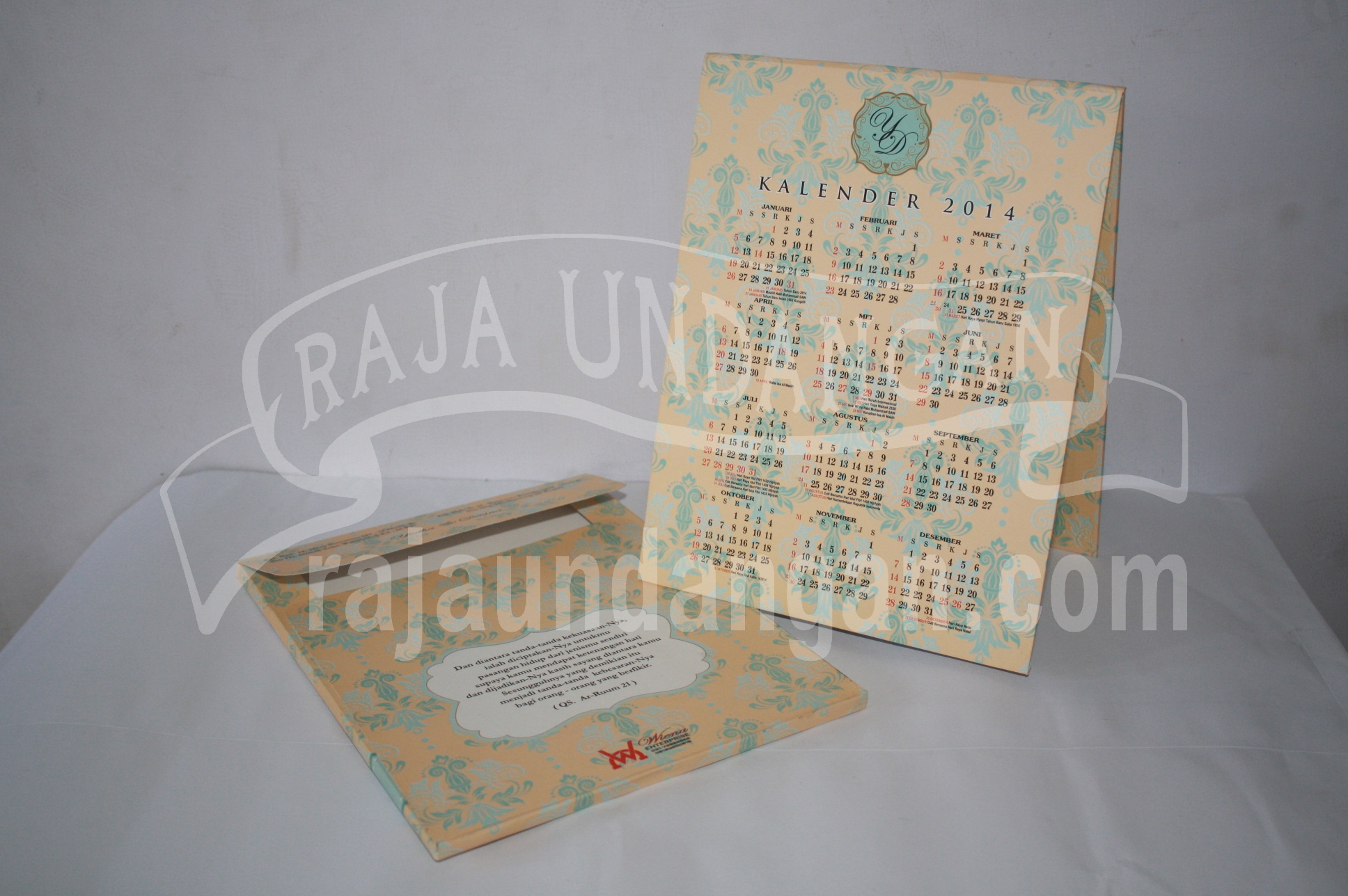 Undangan Pernikahan Hardcover Pop Up Pakai Amplop Yudha dan Devina EDC 47 51 - Percetakan Wedding Invitations Unik dan Simple di Dukuh Sutorejo