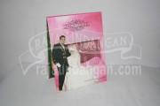 Undangan Pernikahan Hardcover Pop Up Rifqi dan Nurhay (EDC 40)