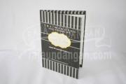 Undangan Pernikahan Mini Hardcover Syaiful dan Sinta (EDC 35)