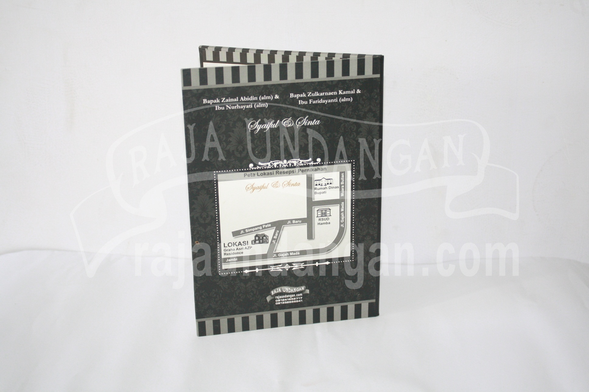 Undangan Pernikahan Mini Hardcover Syaiful dan Sinta EDC 35 2 - Pesan Wedding Invitations Simple di Ploso