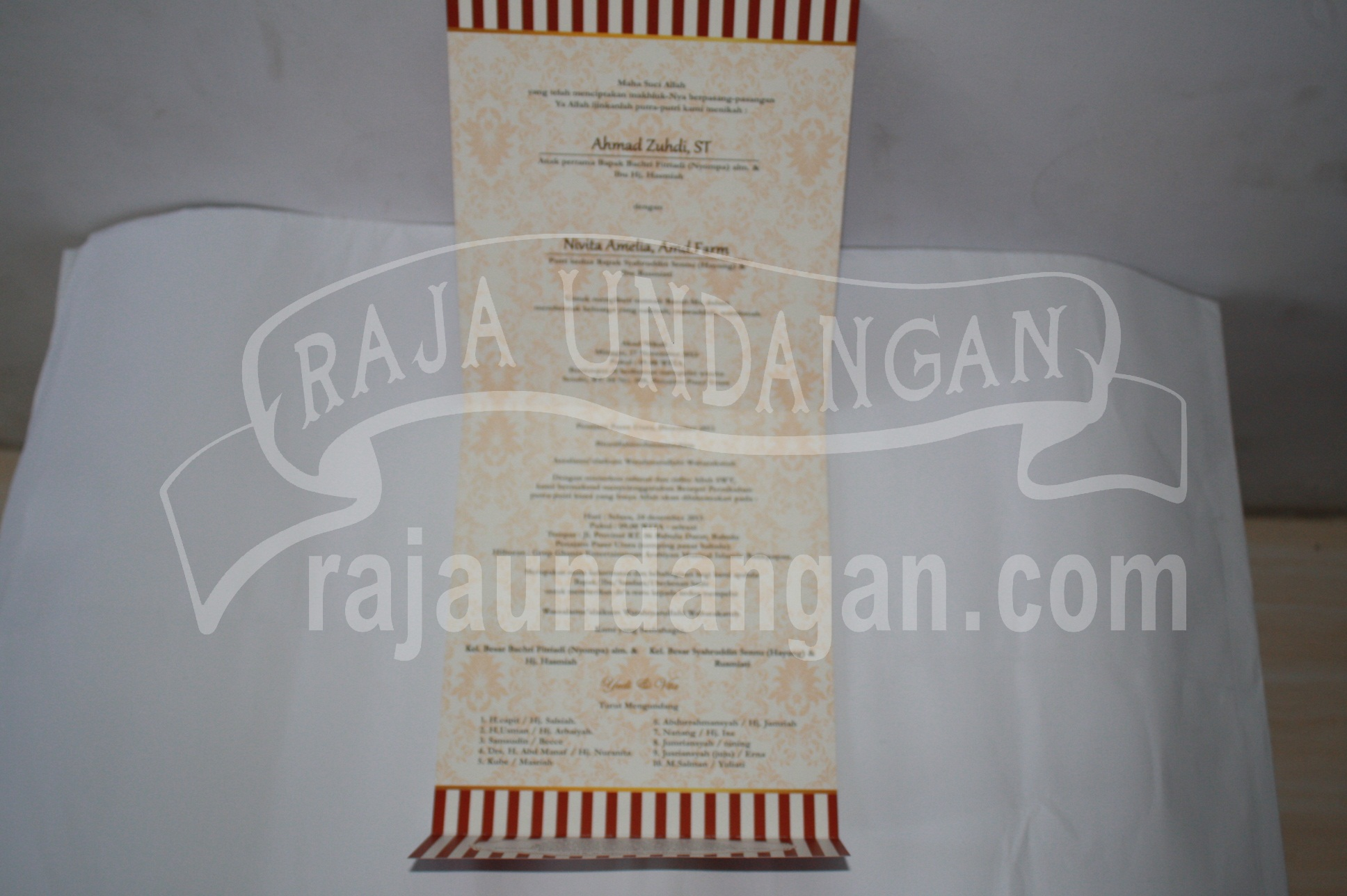 Undangan Pernikahan Softcover Yudi dan Vita EDC 41 11 - Membuat Wedding Invitations Unik dan Simple di Sawahan