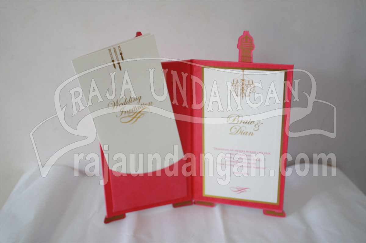 Eiffel Braiv Dian 2 - Percetakan Wedding Invitations Unik dan Simple di Dukuh Sutorejo