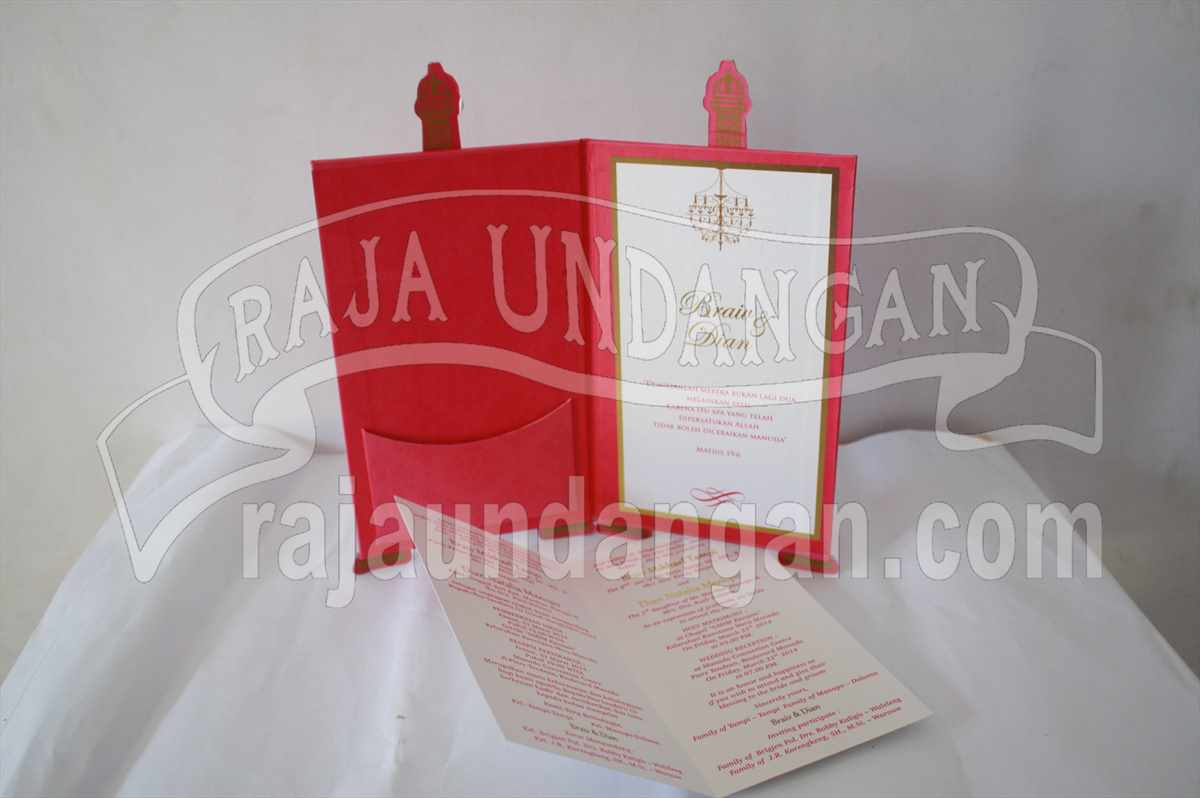 Eiffel Braiv Dian 3 - Percetakan Wedding Invitations Unik dan Eksklusif di Tandes