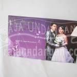 Undangan Pernikahan Hardcover Victor dan Jennifer (EDC 71)