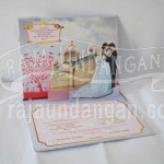 Membuat Wedding Invitations Simple di Menur Pumpungan