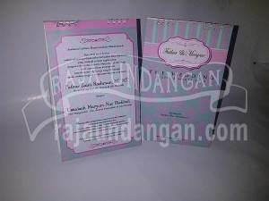 Undangan Pernikahan Kalender Meja Fathur dan Maryam (EDC 84)