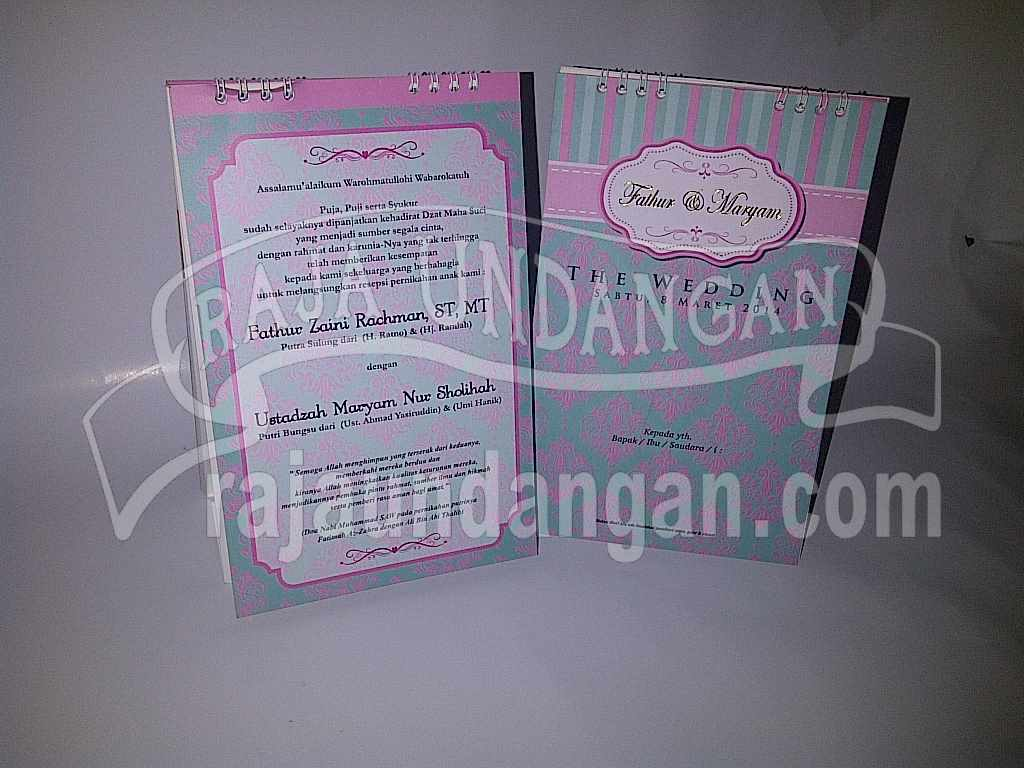IMG 20140512 00154 - Pesan Wedding Invitations Simple di Jambangan Karah
