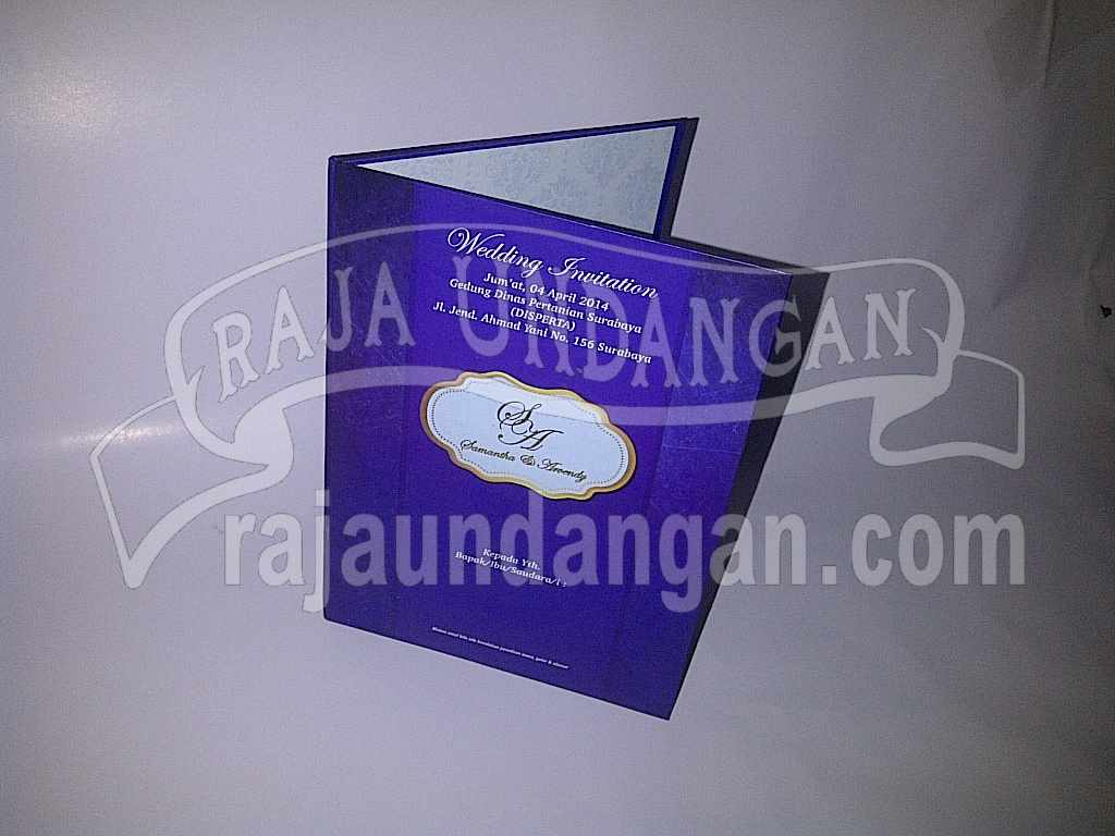 Pesan Wedding Invitations Simple di Made