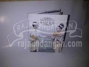 Undangan Pernikahan Hardcover Batur dan Ai (EDC 76)