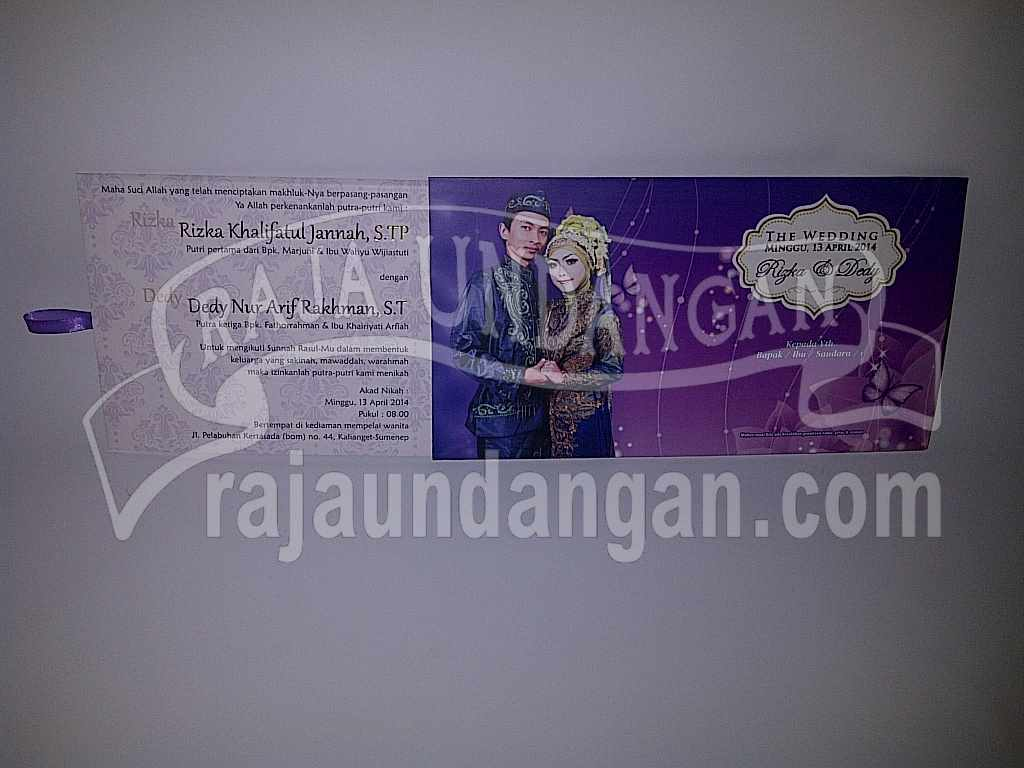 IMG 20140512 00192 - Percetakan Wedding Invitations Simple dan Elegan di Sawunggaling