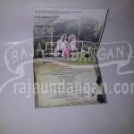 Undangan Pernikahan Hardcover Pop Up 3D Silvia dan Rizal (EDC 86)