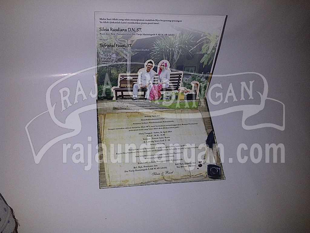 IMG 20140512 00195 - Percetakan Wedding Invitations Unik dan Simple di Simomulyo