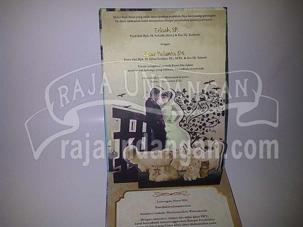 Membuat Wedding Invitations Unik di Kapas Madya