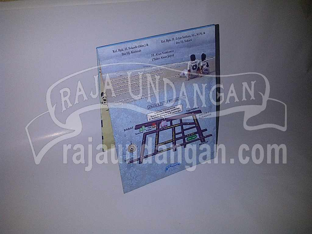 Cetak Wedding Invitations Simple di Manukan Kulon