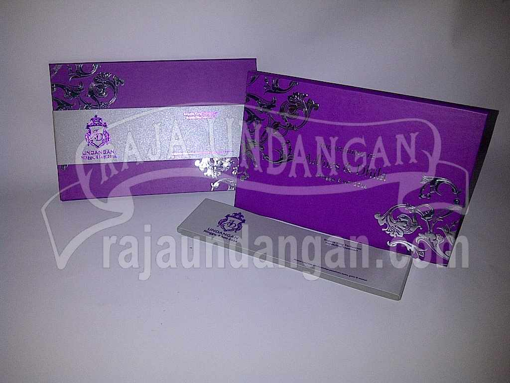 Undangan Hardcover Eksklusive Adhis Dhila 1 - Membuat Wedding Invitations Eksklusif di Jeruk