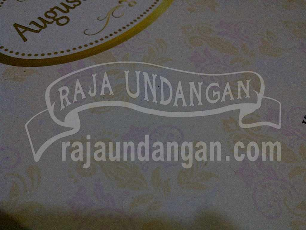 Undangan Hardcover Pop Up Eksklusive Titin Amin 2 - Cetak Wedding Invitations Online di Darmo