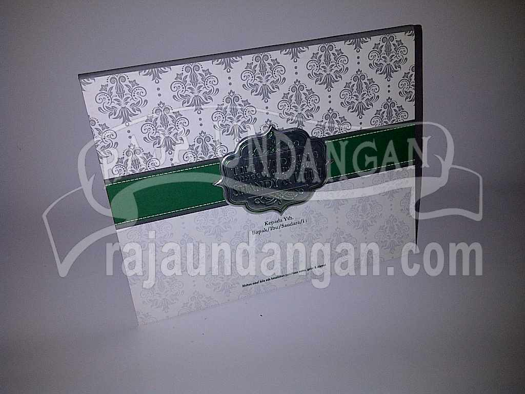 Undangan Hardcover pop up Shandy Lilin 1 - Percetakan Undangan Pernikahan Simple di Simolawang