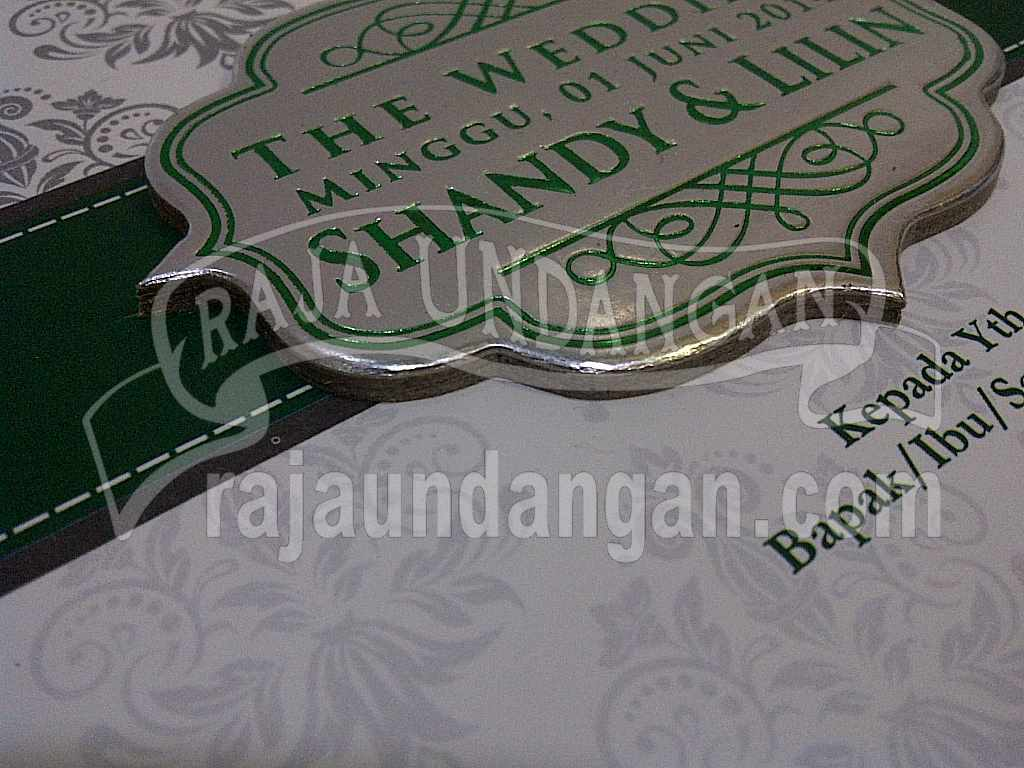Undangan Hardcover pop up Shandy Lilin 5 - Cetak Wedding Invitations Unik dan Murah di Pradah Kalikendal