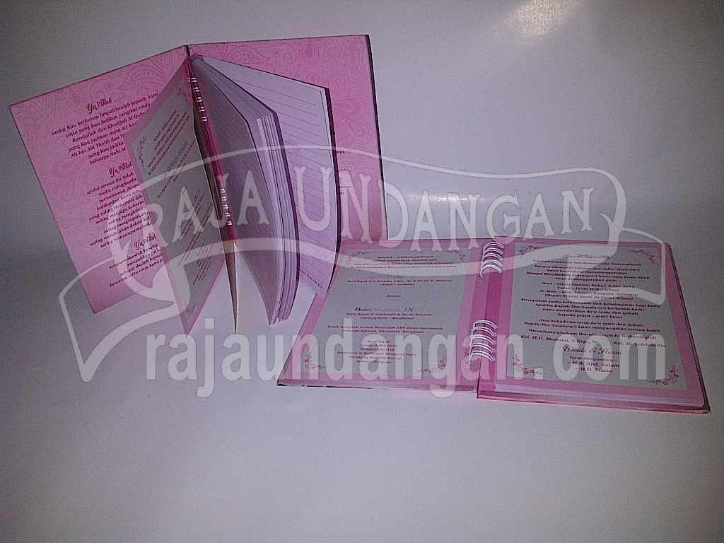 Undangan Notes Winda Husni 3 - Percetakan Wedding Invitations Elegan di Pakal