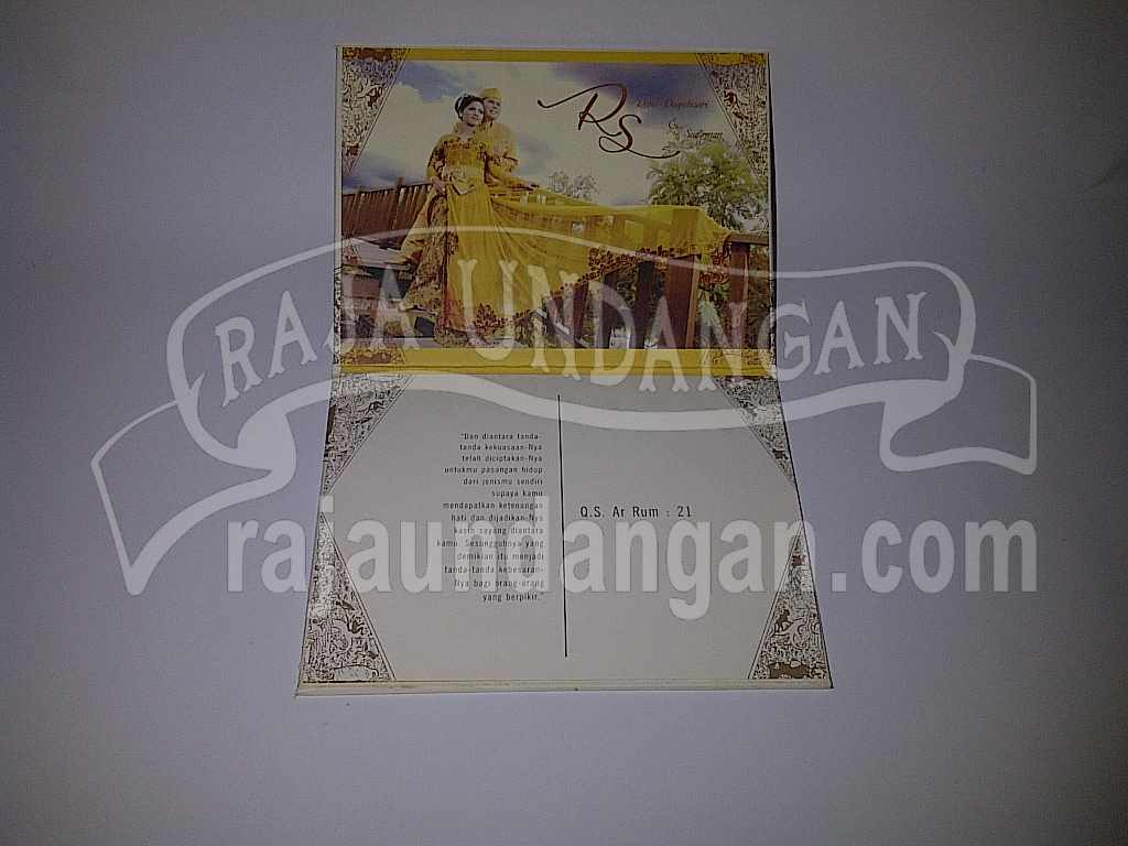 Undangan Wayang Rani Dirman 4 - Membuat Wedding Invitations Unik dan Simple di Sawahan