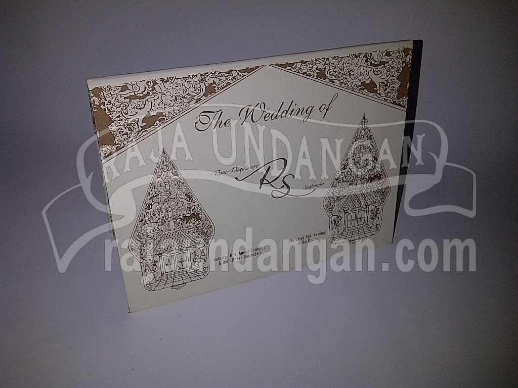 Undangan Wayang Rani Dirman 6 - Pesan Wedding Invitations Simple di Jambangan Karah