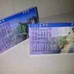 Undangan Pernikahan Mini Kalender Meja Guruh dan Farida (EDC 96)