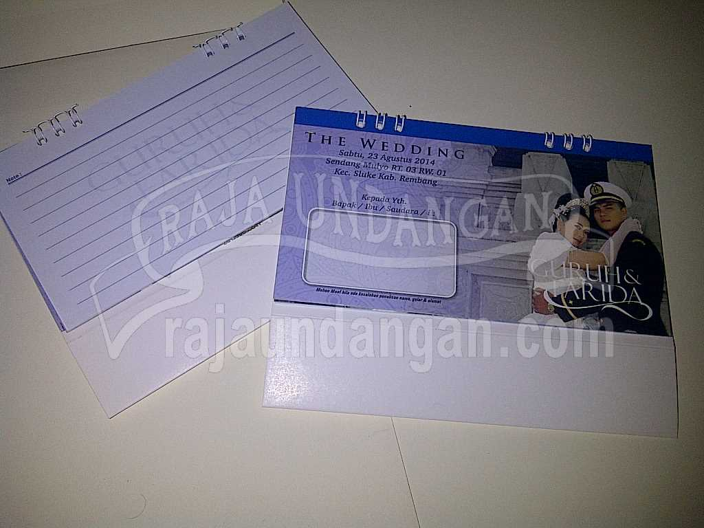 IMG 20140825 00107 - Percetakan Wedding Invitations Simple dan Elegan di Sawunggaling