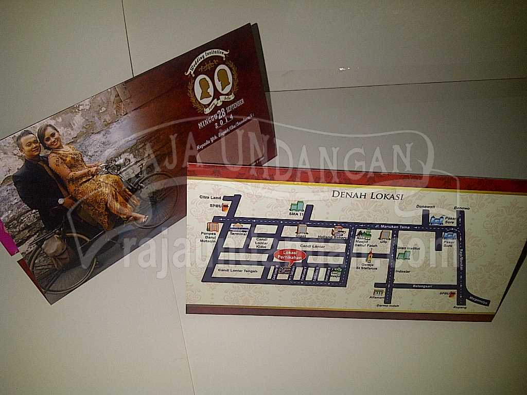 IMG 20140825 00110 - Percetakan Wedding Invitations Unik dan Simple di Simomulyo