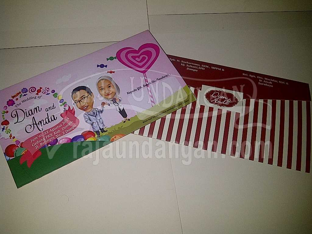 IMG 20140825 00112 - Percetakan Wedding Invitations Unik dan Simple di Dukuh Sutorejo