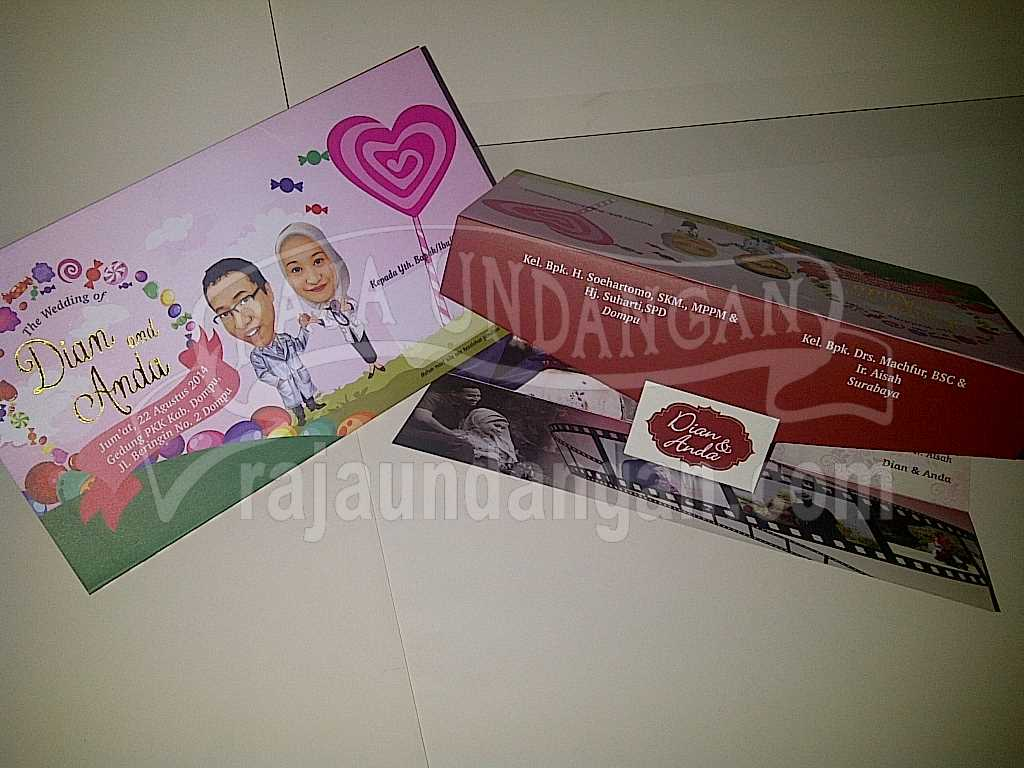 IMG 20140825 00114 - Membuat Wedding Invitations Simple di Simokerto