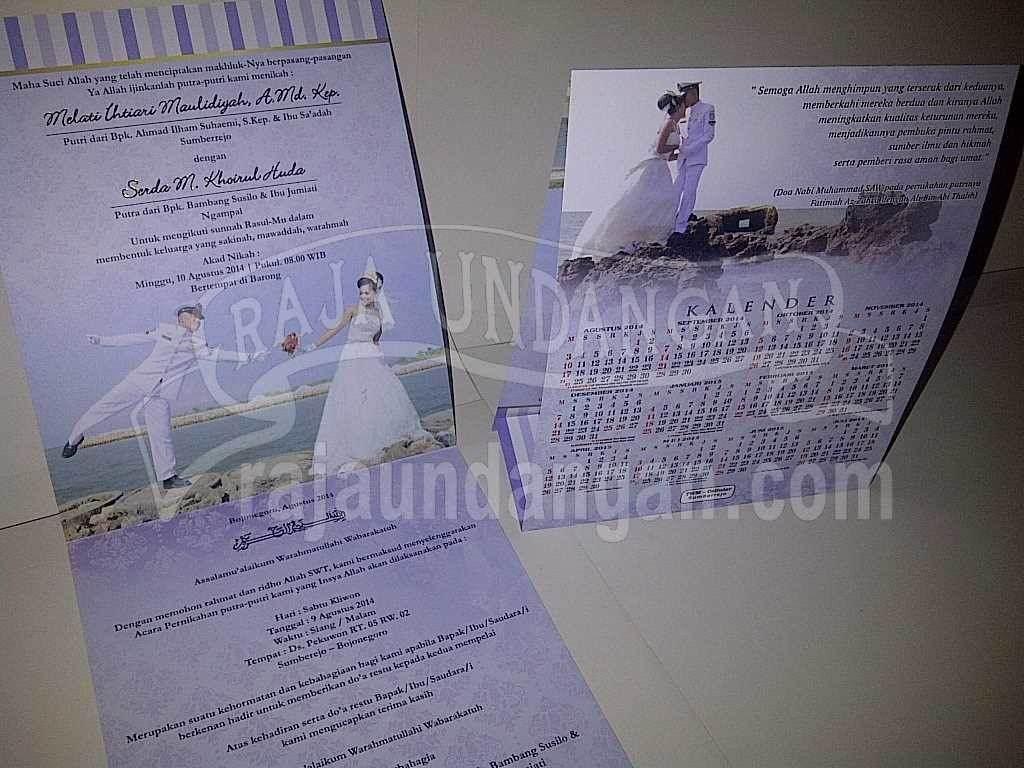 Undangan Pernikahan Mela dan Huda