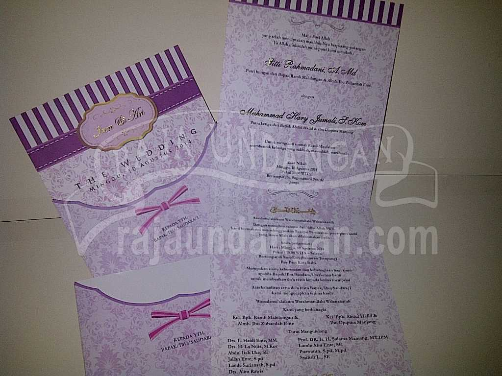 IMG 20140825 00134 - Percetakan Wedding Invitations Elegan di Pakal
