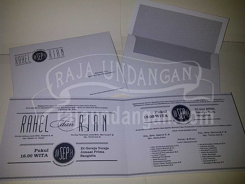 Percetakan Wedding Invitations Murah di Gunung Anyar