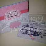 Undangan Pernikahan Hardcover Pop Up 3D Peter dan Erni (EDC 93)