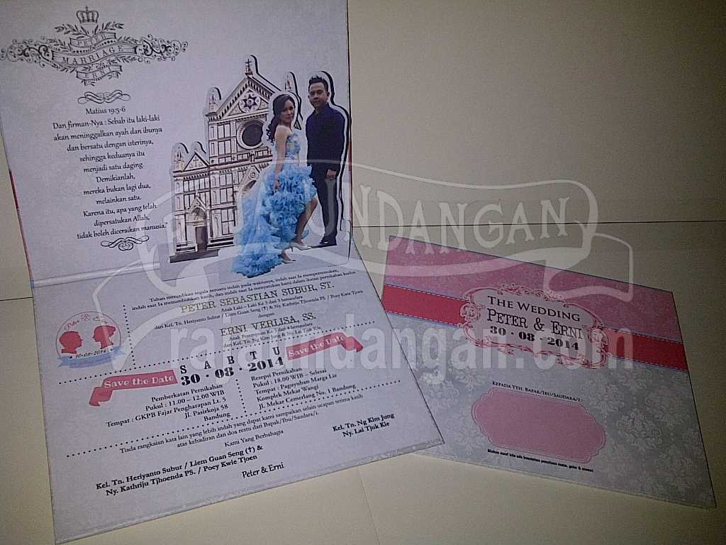 Membuat Wedding Invitations Unik dan Simple di Dukuh Sutorejo