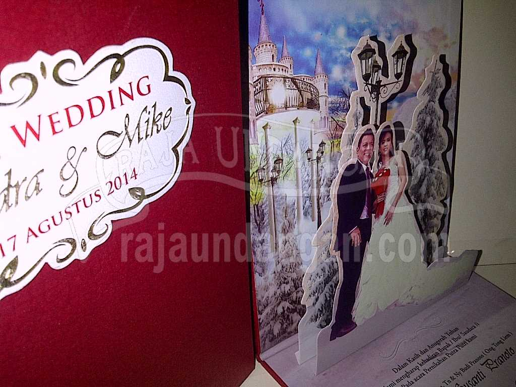 IMG 20140825 00147 - Percetakan Wedding Invitations Simple dan Elegan di Sawunggaling