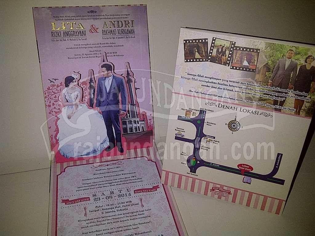 Undangan Pernikahan Lita Andri