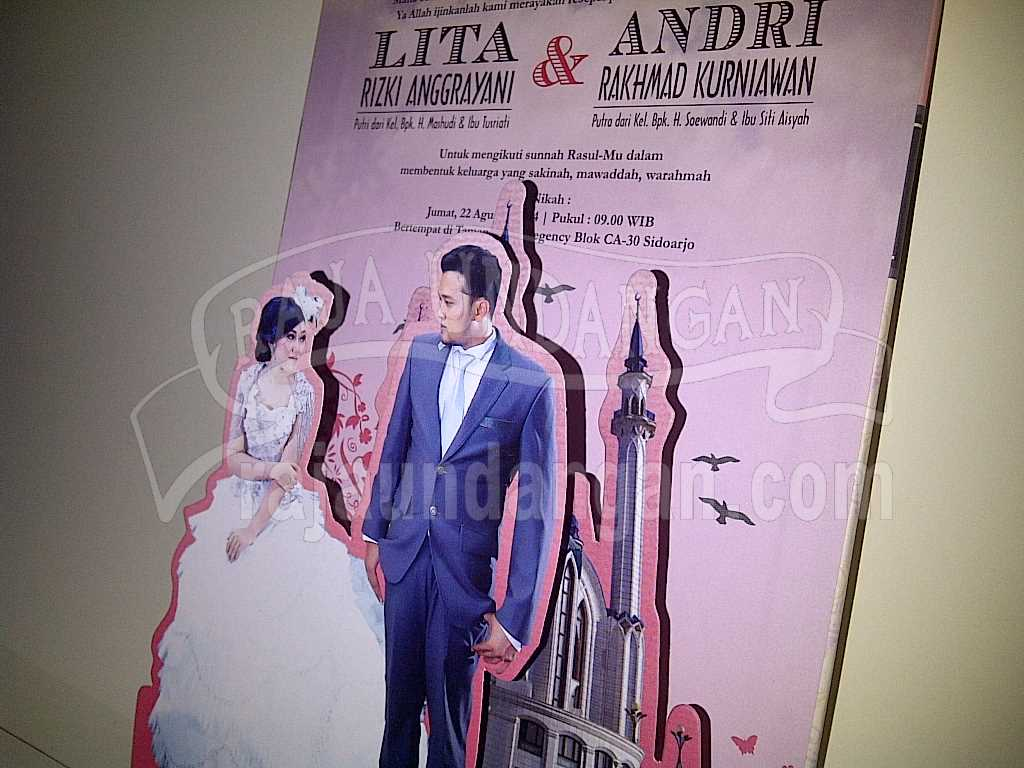 IMG 20140825 00158 - Membuat Wedding Invitations Simple di Dr. Sutomo