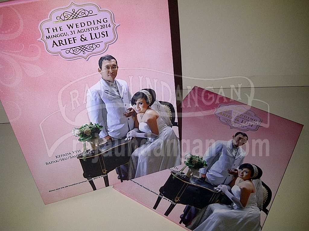 IMG 20140825 00165 - Percetakan Wedding Invitations Simple dan Elegan di Sawunggaling