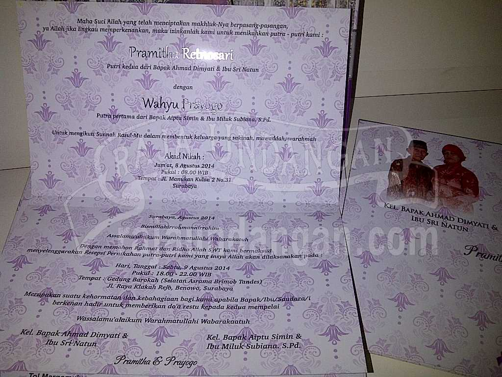 IMG 20140825 00173 - Pesan Wedding Invitations Simple di Ploso
