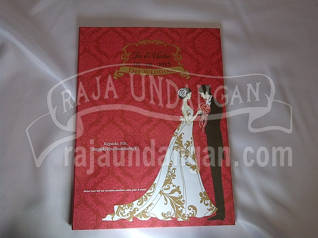 IMG 20150808 00871 - Pesan Wedding Invitations Simple di Jambangan Karah