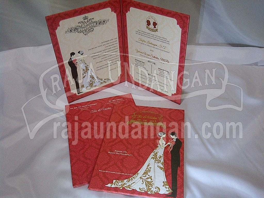IMG 20150808 00873 - Percetakan Wedding Invitations Simple dan Elegan di Sawunggaling