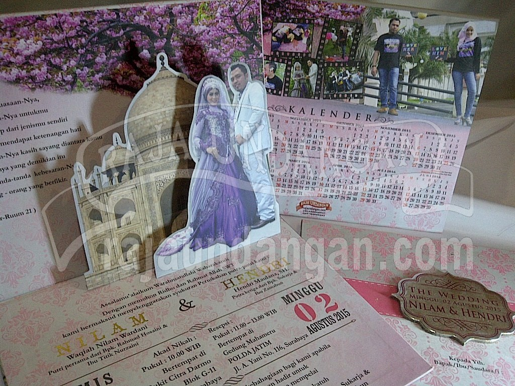 IMG 20150808 00878 - Membuat Wedding Invitations Unik dan Simple di Sawahan