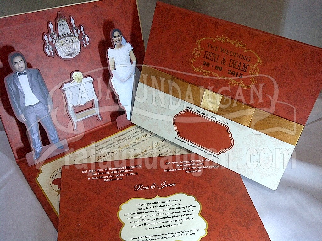 IMG 20150808 00883 - Percetakan Wedding Invitations Simple dan Elegan di Putat Jaya