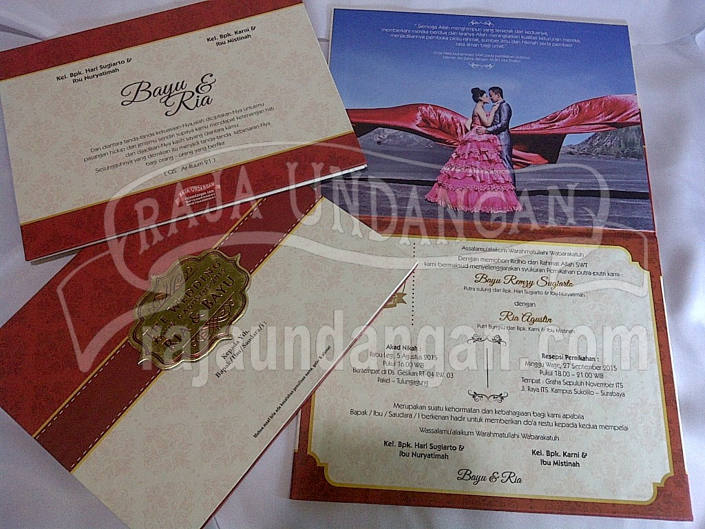 IMG 20150808 00886 - Percetakan Wedding Invitations Elegan di Pakal