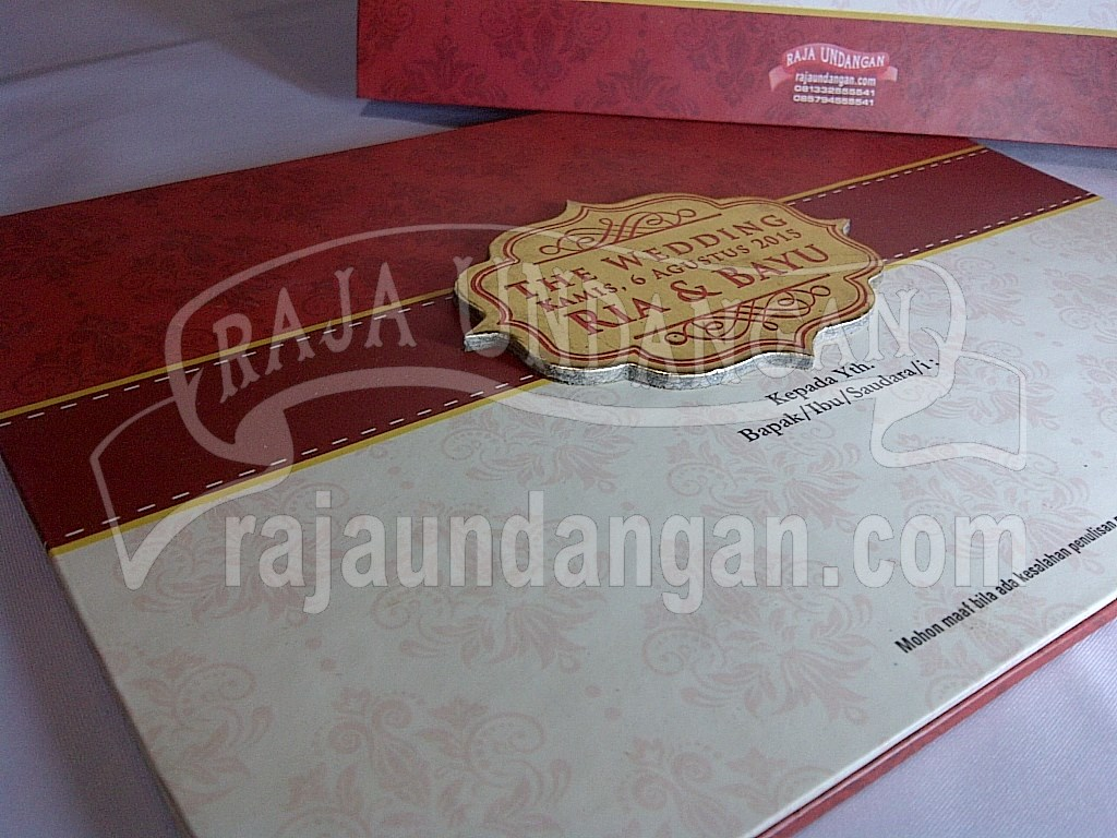 Membuat Wedding Invitations Eksklusif dan Elegan di Benowo