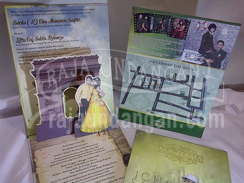 IMG 20150808 00892 - Percetakan Wedding Invitations Unik dan Simple di Simomulyo
