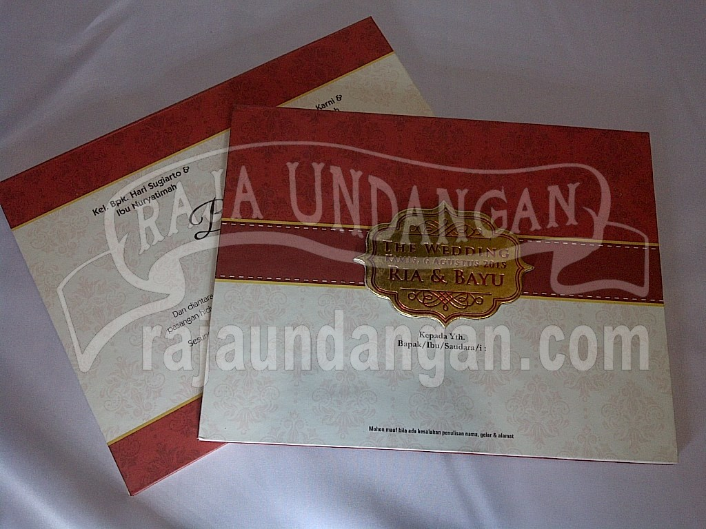 IMG 20150808 00896 - Pesan Wedding Invitations Eksklusif di Karang Poh