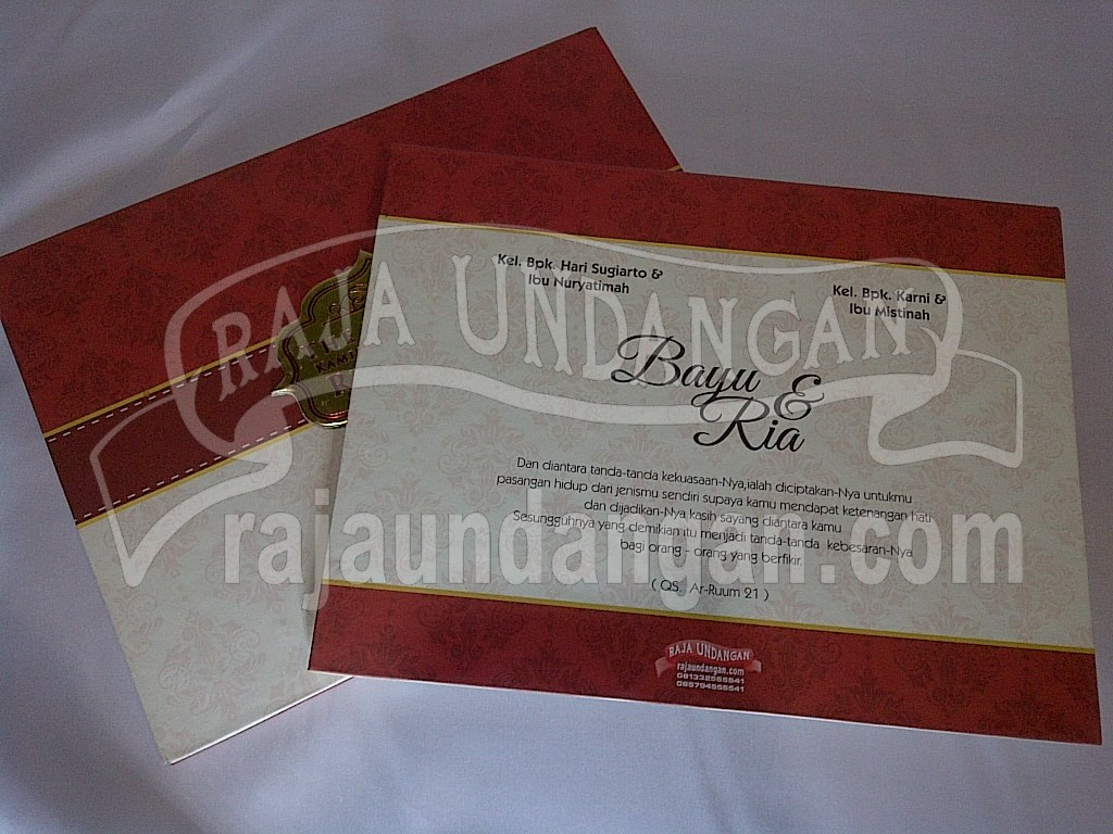 IMG 20150808 00897 - Membuat Wedding Invitations Simple di Dr. Sutomo